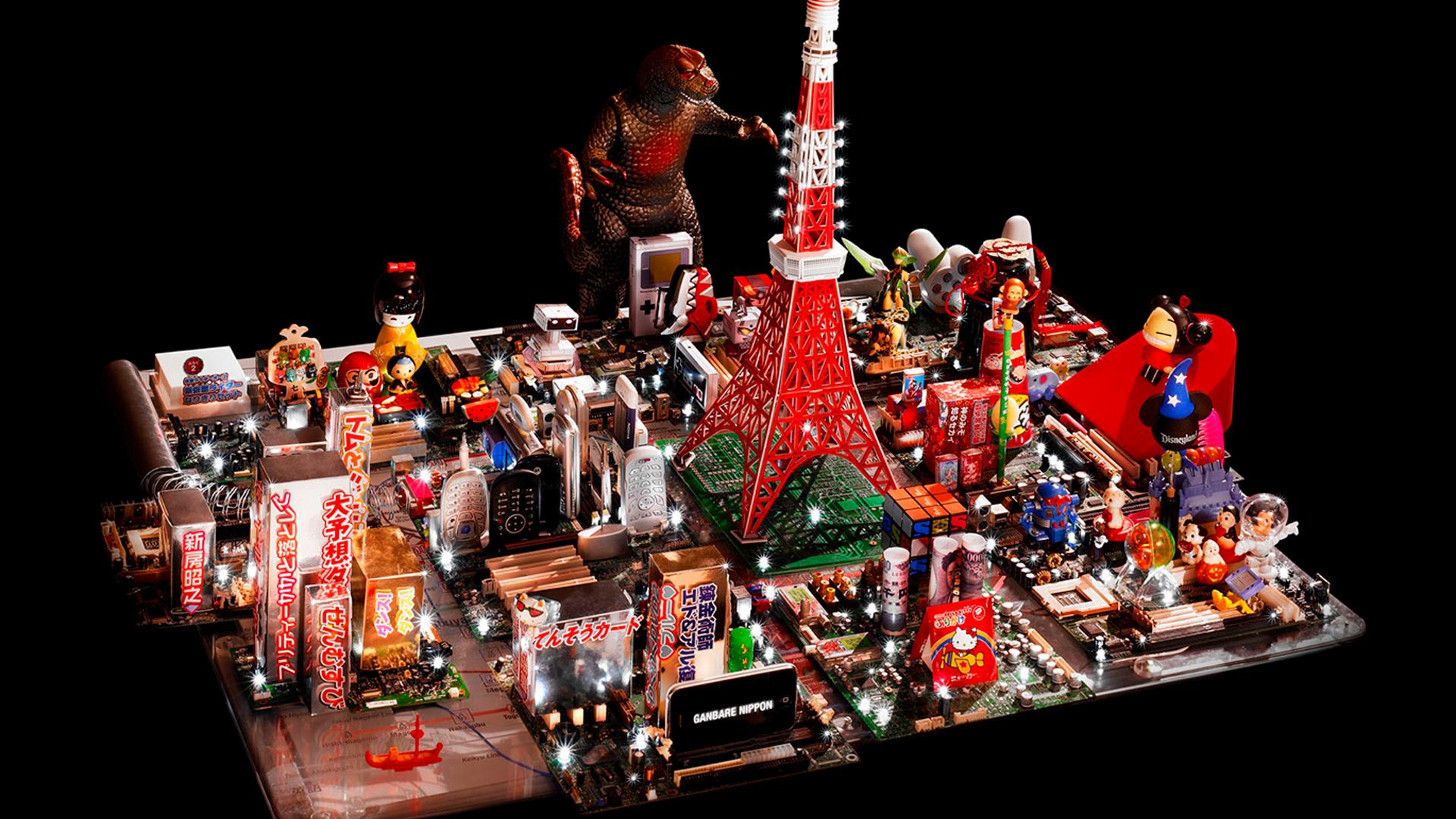 Ganbare Nippon! | Maquete de Tóquio